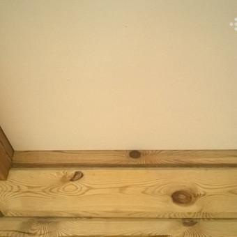Autentiškų medinių ar mūrinių detalių priderinimas prie interjero yra gana populiarus reiškinys. Galėsite būti ramūs, kad skirtingos medžiagos turės savo ribas.