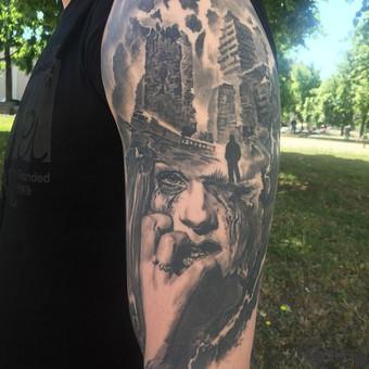 Kietos tattoo tik kietiems. / Evaldas(Mantikora) / Darbų pavyzdys ID 685313