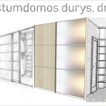 Stumdomos durys, spintos, drabužinės. Gamyba, projektavimas. / Egidijus / Darbų pavyzdys ID 685465