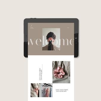 Grafikos dizainerė / Viktorija Osiushkina / Darbų pavyzdys ID 687005