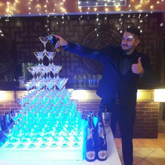 Barmenų šou,šampano piramidės,kokteilių vakarėliai,barmenai / Artūras Grigorjevas / Darbų pavyzdys ID 687627