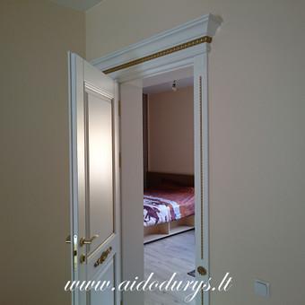 Vidaus durys iš medžio masyvo / Aidas Mazūra / Darbų pavyzdys ID 687815