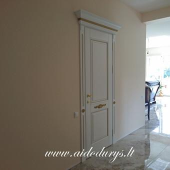 Vidaus durys iš medžio masyvo / Aidas Mazūra / Darbų pavyzdys ID 687817