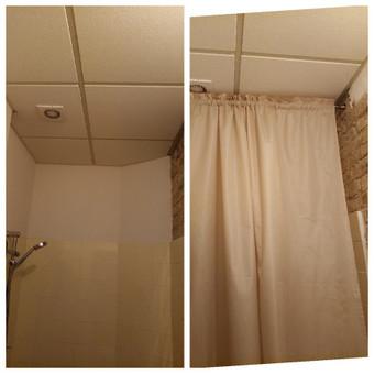 Vonios užuolaidėlės kabinimas / montavimas Jūsų namuose, biure, sodyboje