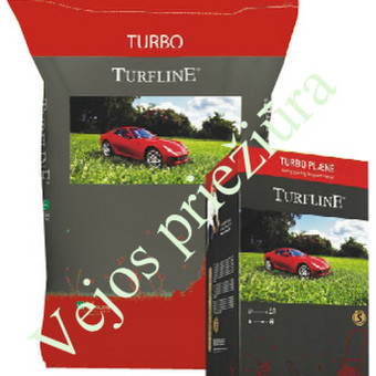 Turfline TURBO  Kaina: 7,5kg- 34 € ; 20kg- 83 €