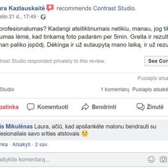 GERULĖ 55 m2 FOTOSTUDIJA VILNIUJE / Rytis Mikulėnas / Darbų pavyzdys ID 691025