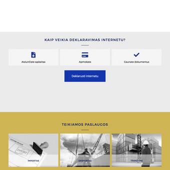 Svetainių kūrimas, web aplikacijų kūrimas / Vaidas Jokubauskas / Darbų pavyzdys ID 692799