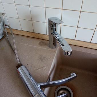 Virtuvinio vandens čiaupo pakeitimas Jūsų namuose, biure, sodyboje