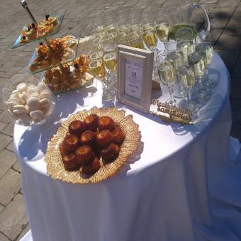 Šampano staliukas po ceremonijos / Eglė Ivanskaja / Darbų pavyzdys ID 696213