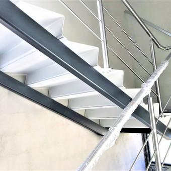 Metalinių laiptų projektavimas, gamyba ir montavimas