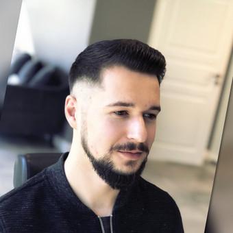 Vyriski kirpimai ir barzdu modeliavimas,skutimas / Loreta / Darbų pavyzdys ID 698379
