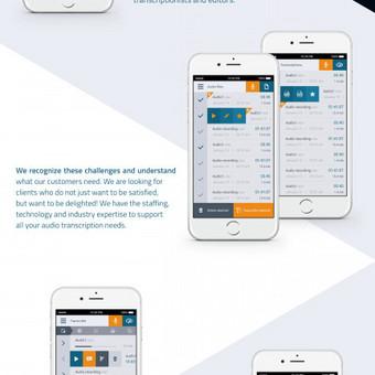 GoTranscript.com - Mobile Audio Recorder application UI dizainas https://play.google.com/store/apps/details?id=com.gotranscript&hl=en