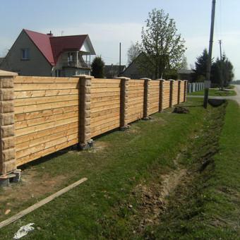 Tvoros, kiemo vartai, montavimas, kalvystės elementai. / UAB Metalo spektras / Darbų pavyzdys ID 700217