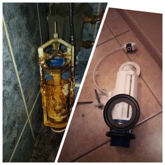 Tualeto bakelio mechanizmo keitimo darbai Jūsų namuose, biure, sodyboje.