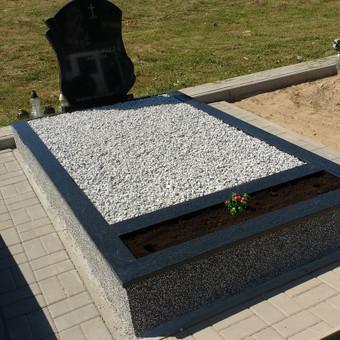 Kapų tvarkymas, granito plokštės, Paminklai, antkapiai / Paulius Latvys / Darbų pavyzdys ID 702549