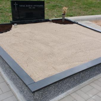 Kapų tvarkymas, granito plokštės, Paminklai, antkapiai / Paulius Latvys / Darbų pavyzdys ID 702565