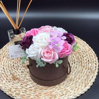 Muilo Gėlių kompozicijos Gėlės pagamintos iš muilo / Muilo Gėlės / Darbų pavyzdys ID 704895