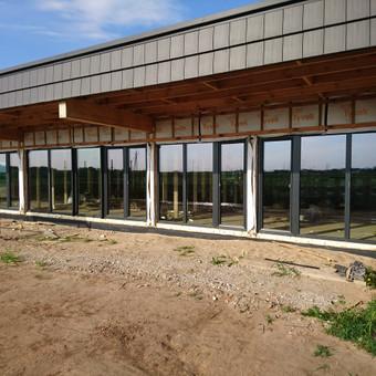 Plastiko, Aliuminio, Medžio profilio langai,durys,pertvaros / UAB / Darbų pavyzdys ID 704999