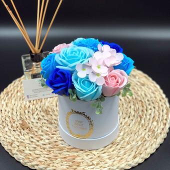 Muilo Gėlių kompozicijos Gėlės pagamintos iš muilo / Muilo Gėlės / Darbų pavyzdys ID 705147