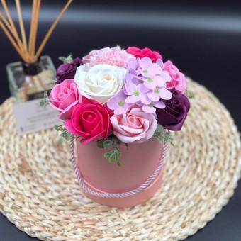 Muilo Gėlių kompozicijos Gėlės pagamintos iš muilo / Muilo Gėlės / Darbų pavyzdys ID 705207