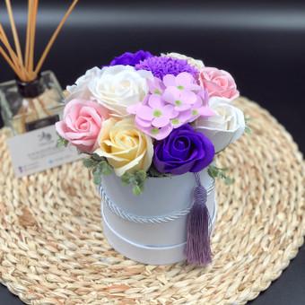 Muilo Gėlių kompozicijos Gėlės pagamintos iš muilo / Muilo Gėlės / Darbų pavyzdys ID 705217