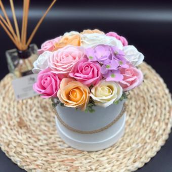 Muilo Gėlių kompozicijos Gėlės pagamintos iš muilo / Muilo Gėlės / Darbų pavyzdys ID 705229