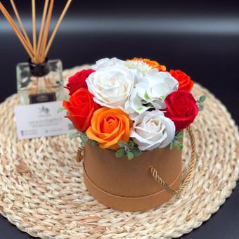 Muilo Gėlių kompozicijos Gėlės pagamintos iš muilo / Muilo Gėlės / Darbų pavyzdys ID 705245