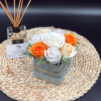 Muilo Gėlių kompozicijos Gėlės pagamintos iš muilo / Muilo Gėlės / Darbų pavyzdys ID 705247