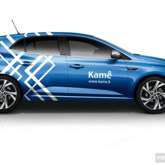Reklamos ant transporto priemonių projektavimas.