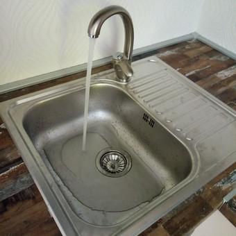 Virtuvinio vandens čiaupo sumontavimas