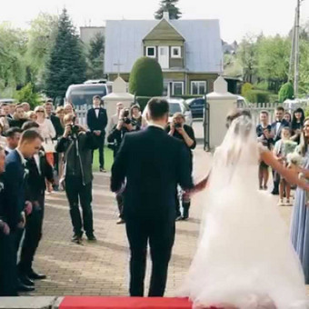 Vestuvių filmavimas / Mindaugas Žiūra / Darbų pavyzdys ID 90476