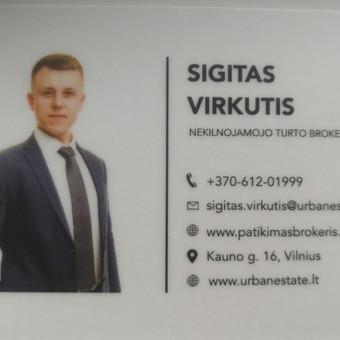 Patyręs nekilnojamojo turto brokeris / Sigitas Virkutis / Darbų pavyzdys ID 708317
