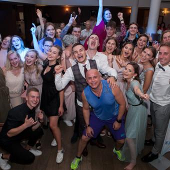 Renginių vedėjas Evaldas Jankantas kartu su DJ komanda / Evaldas Jankantas / Darbų pavyzdys ID 708827