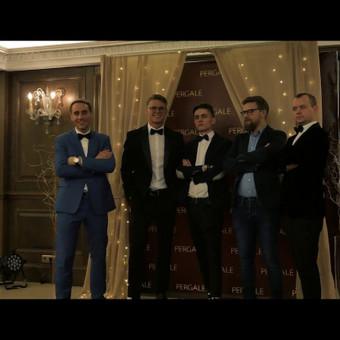 Renginių vedėjas Evaldas Jankantas kartu su DJ komanda / Evaldas Jankantas / Darbų pavyzdys ID 709849