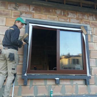 Plastiko, Aliuminio, Medžio profilio langai,durys,pertvaros / UAB / Darbų pavyzdys ID 709913