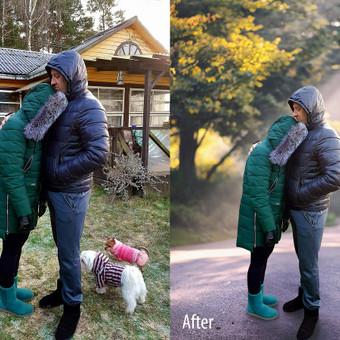 Nuotraukų koregavimas / retušavimas / fotomontažas / Dovilė / Darbų pavyzdys ID 709945