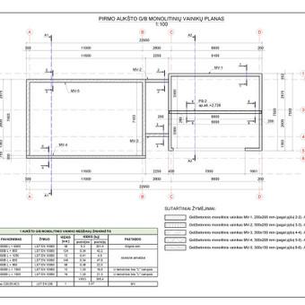 Braižyba AutoCad programa / Mantas / Darbų pavyzdys ID 713253
