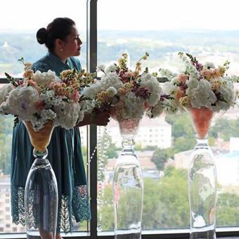 Gėlės vazoje