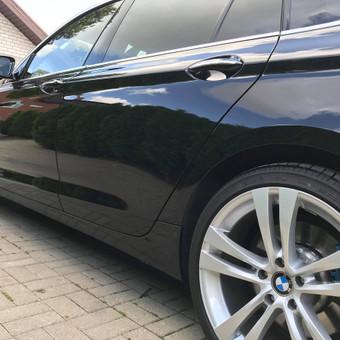 Juodas BMW 530GT. 3-jų etapų poliravimas + paslaugų paketas   Informacija tel. +370 655 66511 arba FB: @poliranta