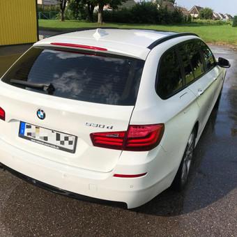 BMW F11. 1-o etapo poliravimas + paslaugų paketas + Nanolex Si3D   Informacija tel. +370 655 66511 arba FB: @poliranta