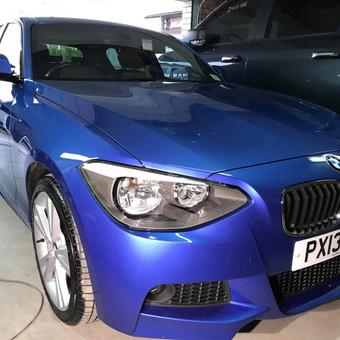BMW 120d. 2-jų etapų poliravimas + paslaugų paketas    Informacija tel. +370 655 66511 arba FB: @poliranta