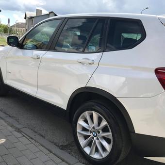 BMW X3. 1-o etapo poliravimas + paslaugų paketas    Informacija tel. +370 655 66511 arba FB: @poliranta