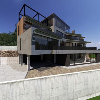 Casa-nova architektūrinis projektavimas / Casa-nova interjero architektūros studij / Darbų pavyzdys ID 723027