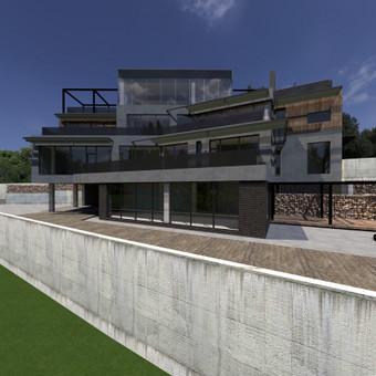 Casa-nova architektūrinis projektavimas / Casa-nova interjero architektūros studij / Darbų pavyzdys ID 723029