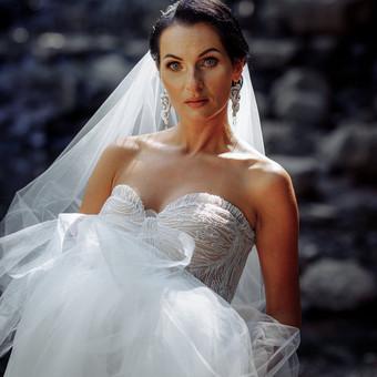 Individualus vestuvinių suknelių siuvimas / MJ Bridal Couture / Darbų pavyzdys ID 726915