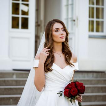 Individualus vestuvinių suknelių siuvimas / MJ Bridal Couture / Darbų pavyzdys ID 726947