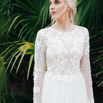 Individualus vestuvinių suknelių siuvimas / MJ Bridal Couture / Darbų pavyzdys ID 727001