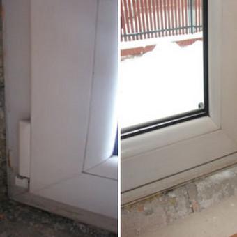 Balkono Langas ir durys- Angokrasciu Apdaila- nuo 50 eu. Su užsakovo medžiagomis