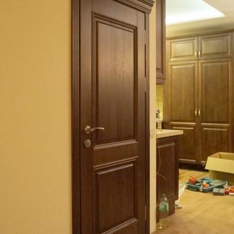 Vidaus durys iš medžio masyvo / Aidas Mazūra / Darbų pavyzdys ID 92478
