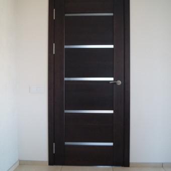 Vidaus durys iš medžio masyvo / Aidas Mazūra / Darbų pavyzdys ID 92481